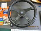 Vintage Personal Hi Fi Steering Wheel Leather With Adaptor Bmw Shifter Knob.
