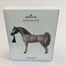 Hallmark 2018 Dream Horse Arabian Show Pony Christmas Ornament Majestic Breed