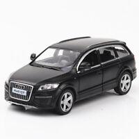 1:36 Audi Q7 Metall Die Cast Modellauto Auto Spielzeug Model Sammlung Schwarz