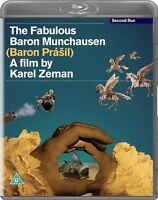 The Fabulous Baron Munchausen [Blu-ray] (1962) (Baron Prasil) Karel Zeman Film