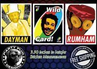 RARE LAST ONES! Gary Baseman Sticker sheet