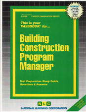 NEW Building Construction Program Manager Test Practice Passbook NYS Exam