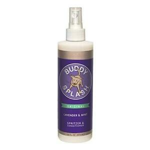 Buddy Biscuits Splash Dog Deodorizer & Conditioner, Easy Spray On with Botanical