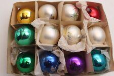 12 boules de noël boules de noël bijou Noël avec motif