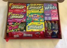 American sweets gift box - USA candy hamper - nerds - Air heads - Jolly rancher