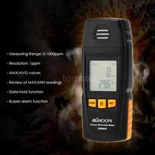 LCD Digital Carbon Monoxide Meter High Precision CO Gas Tester Meter 0-1000ppm