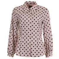 BAUM UND PFERDGARTEN Blouse Dotty Red Meriel Cotton Blend RRP £149 SE