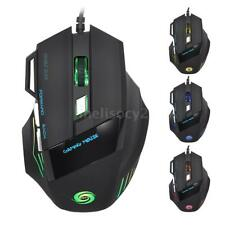Optical USB 7D LED Wired Gaming Mouse Mice For PC Laptop Computer Gamer 3200DPI