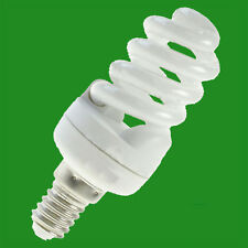 5W CFL Spiral Light Bulb SES E14 Low Energy Long Life Lamp 2700K Warm White