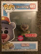 Funko Pop! Tale Spin #441: Baloo *Flocked* *TARGET EXCLUSIVE* NICE BOX