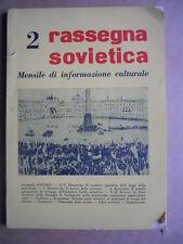 Rassegna Sovietica 2 - Arte Diritto Economia Filosofia ed. IT URSS 1954 [OGL]