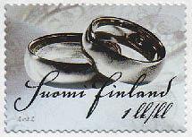 Finland 2012 Wedding Rings MNH