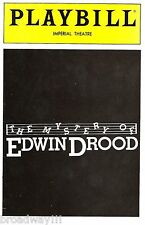 """Betty Buckley """"EDWIN DROOD"""" Cleo Laine / George Rose 1985 Preview Playbill"""
