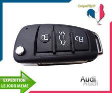 Coque Télécommande Plip Bouton Audi A1 - A3 - A4 - A5 - A6 - A8 - TT - Q7 + clé