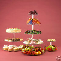 Cupcake Fruit Food Display Stand Tower for Wedding & Party 5 Tier