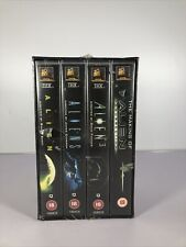 The Alien Saga - Box Set (VHS/DM, 1997, 4-Tape Set)