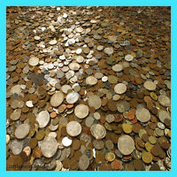HUGE 5 LB OLD COIN COLLECTION ESTATE SALE LOTS SET WITH SILVER COINS !