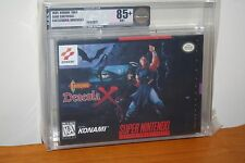 Castlevania: Dracula X (Super Nintendo SNES) NEW SEALED V-SEAM MINT GOLD VGA 85+