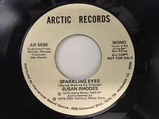 Susan Rhodos 45: funkelnde Augen, 1978 Arctic Records Mono/Stereo Promo