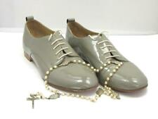 Quality Fashion Italian Lot Bespoke Leather Men's Shoes & Silver Crucifix Beads