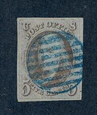drbobstamps US Scott #1 Used 4 Margins Sound Stamp w/Attractive Cancel