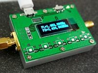 "2020 0.91"" OLED RF 1Hz-2.4GHz Frequency Counter Meter  Cymometer Tester"
