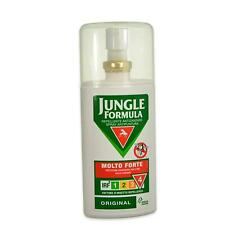 JUNGLE FORMULA MOLTO FORTE SPRAY ANTIPUNTURA FATTORE D'INSETTO REPELLENZA 4 75ml