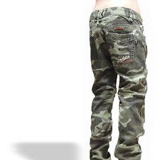 Camouflage~JungenJeans Hose KinderJeans~SchnäppchenCorner~Gr.8-16~Neu J.N.S-8136