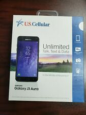 BRAND NEW - Samsung Galaxy J3 - (US Cellular) Ready Connect PREPAID  Plans Only