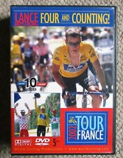 2002 Tour De France World Cycling Productions 5 DVD 10 hrs Lance Armstrong Clean