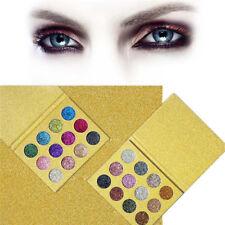 12 Color Women Powder Glitter Eyeshadow Super Flash Makeup IMAGIC Eye Shadow