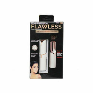 Finishing Touch Flawless Facial Hair Remover Discreet Pain-Free Epilator