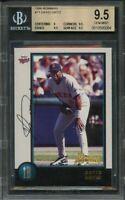 1998 bowman #71 DAVID ORTIZ boston red sox rookie card BGS 9.5 (9 9.5 9.5 9.5)