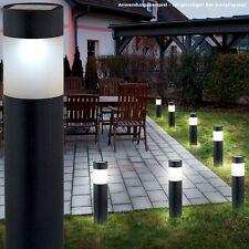 2x 4er Set Steckleuchten LED Solarlampen Erdspieß Veranda Garten Spot DxH 9x37cm