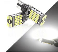 2x Bright T15 W16W 45 SMD 4014 Error Free LED Cars Reverse Back Light Bulbs
