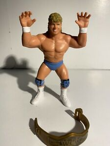 WCW Galoob Brian Pillman Action Figure UK Exclusive - **RARE** - with belt
