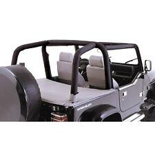 Jeep Wrangler YJ 1992-95 Denim Roll Bar Covers  Black 13611.15 Rugged Ridge