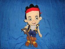 "Disney Store Jake and the Neverland Pirates Captain Jake Plush 13"""