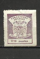 3293-FISCAL RARISIMO EXACCIONES LOCALES FRANCO.0,10PTS