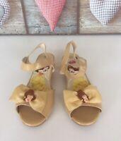 Disney Store Princess Belle Light Up Shoes Dressing Up Play Infants UK2 EUR34