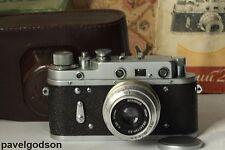 Zorki-2C 2S Soviet Camera Industar-50 (P) f/3.5 50mm