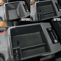 Armrest Storage Box Center Console Glove Tray Case For Ford Ranger 2012-2018