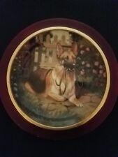 Danbury Mint - Patience German Shepherd plate by J.L. Fitzgerald