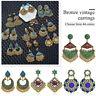 Vintage Tassel Jhumka Indian Ethnic Bollywood Dangle Earrings Fashion Jewelry