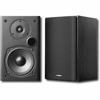Polk Audio 2-Way Indoor Bookshelf Speaker in Black - Pair  #T15