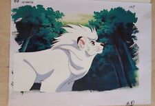 Kimba The White Lion Jungle Emperor Leo Osamu Tezuka Anime Production Cel