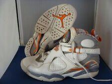 Nike Jordan Retro 8 Stealth Orange Size 8 Mens