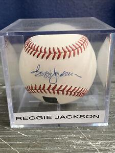 REGGIE JACKSON Signed Autograph Auto Rare Topps Archive Ball 🔥 ⚾️