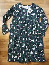NWT HANNA ANDERSSON STAR WARS ORNAMENT FLANNEL RUFFLED NIGHTGOWN  Holiday 130 8