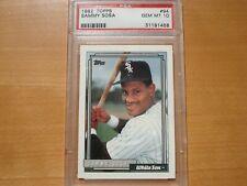 1992 Topps Sammy Sosa PSA 10 Chicago Cubs White Sox HOF The Long Summer